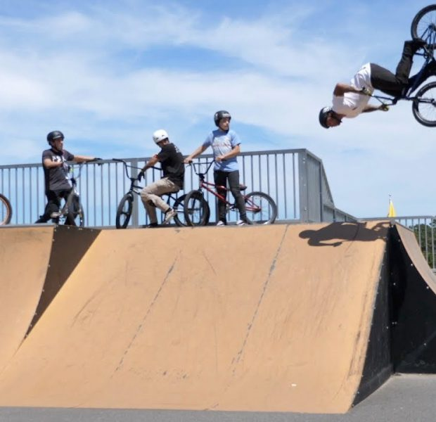 Channel Crew Rides A New Jersey Skatepark!