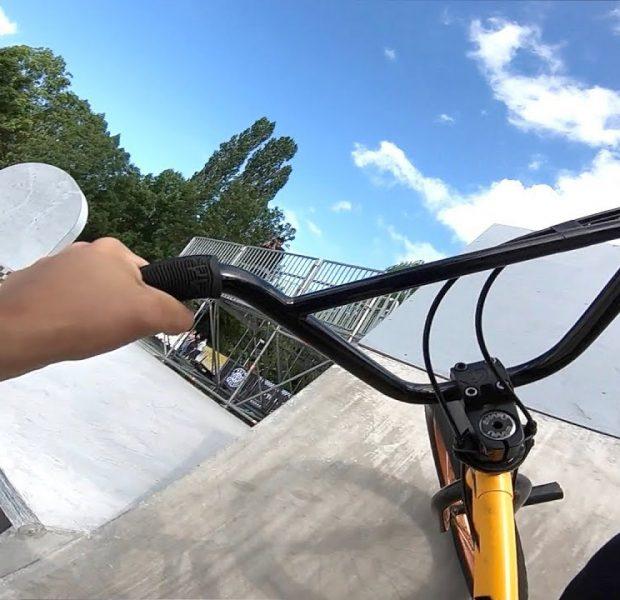 Germany Pro BMX Skatepark POV!
