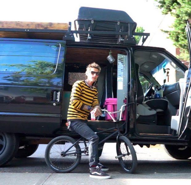 MEET PRO BMX RIDER THAT LIVES IN HIS VAN