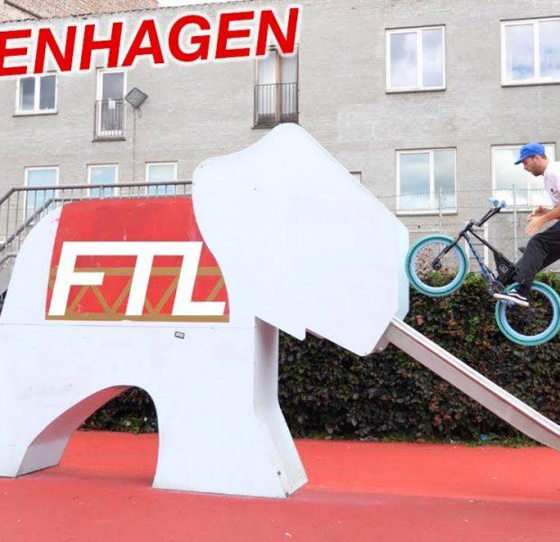 Riding BMX in COPENHAGEN!