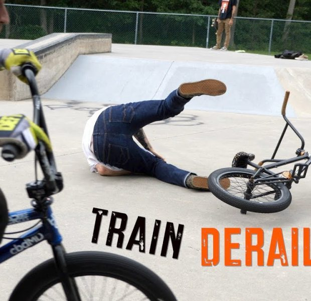 Tail Whip Train Gone WRONG!