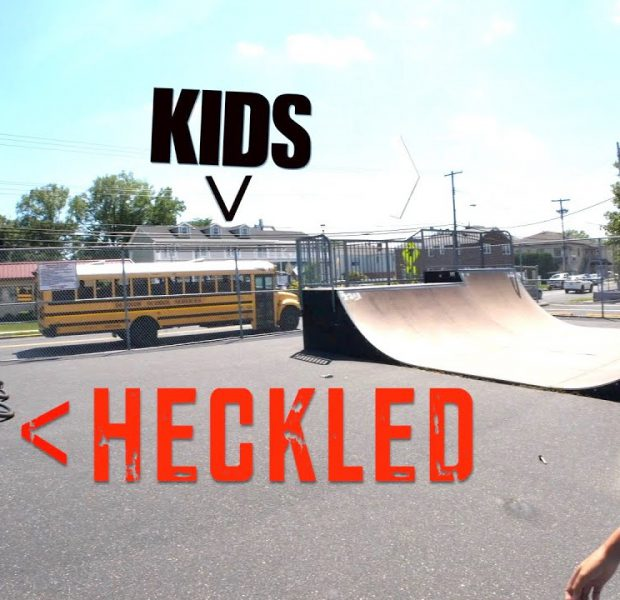 Adult HECKLED By Kids At The Skatepark!