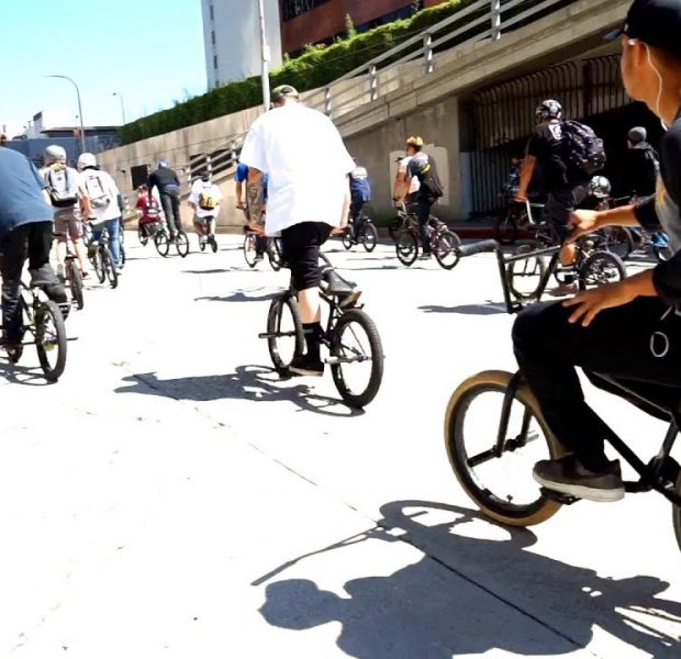 BMX DAY IN THE STREETS OF LOS ANGELES