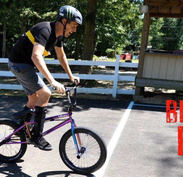 Scotty Cranmer vs. Big Boy BMX Race! *MUST SEE THE END*