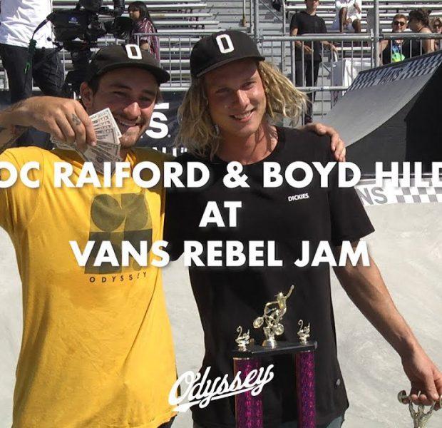 BMX / Broc Raiford & Boyd Hilder at Vans Rebel Jam 2019