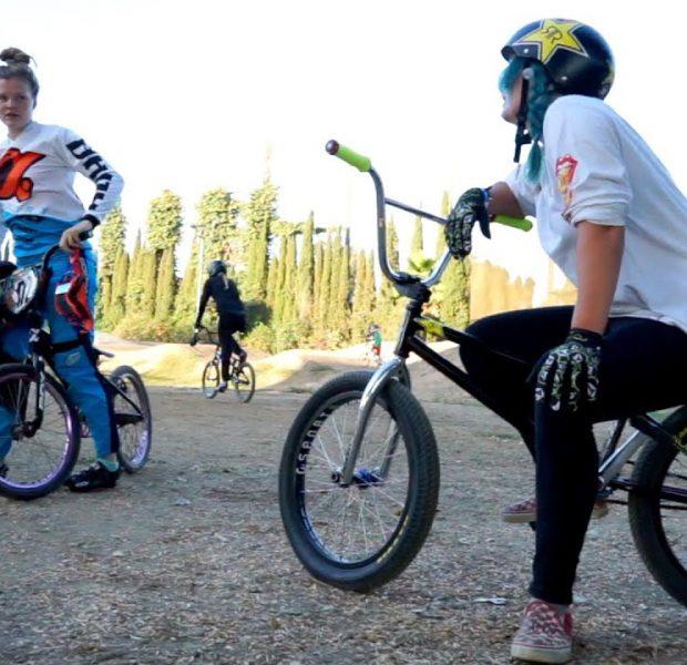 BMX – FEMALE PARK RIDER vs FEMALE PRO RACERS