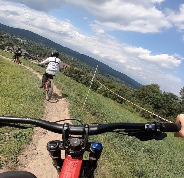 First Time Downhill Mountain Biking Since My ACCIDENT!