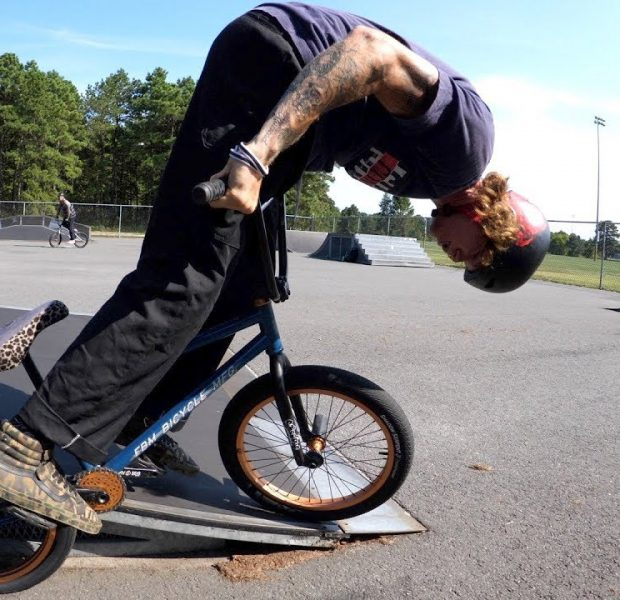 The IMPOSSIBLE BMX Trick!