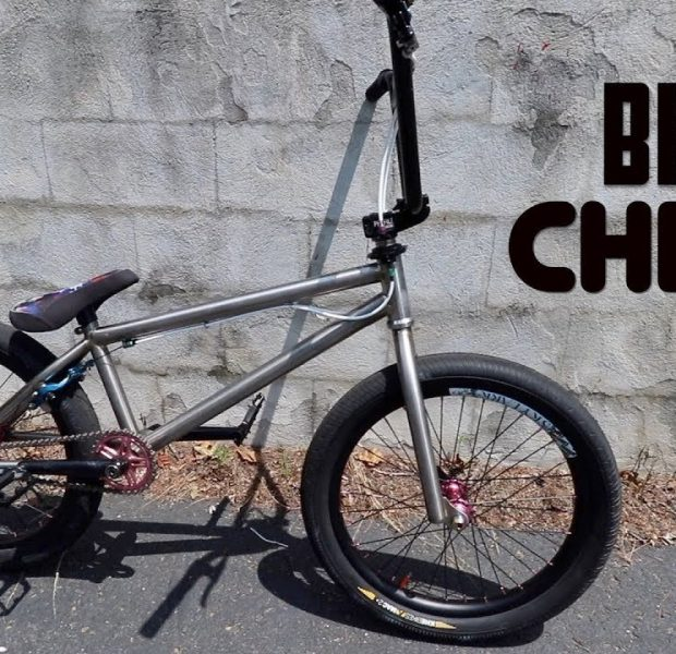 UNBELIEVABLE Titanium BMX Bike Check!