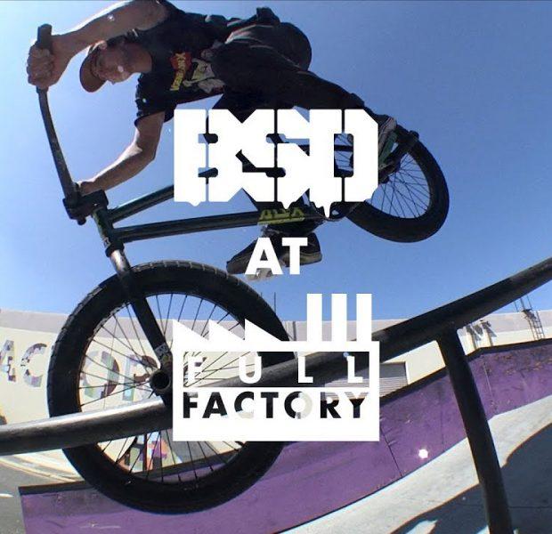BSD BMX – Reed Stark & Denim Cox Full Factory warehouse session
