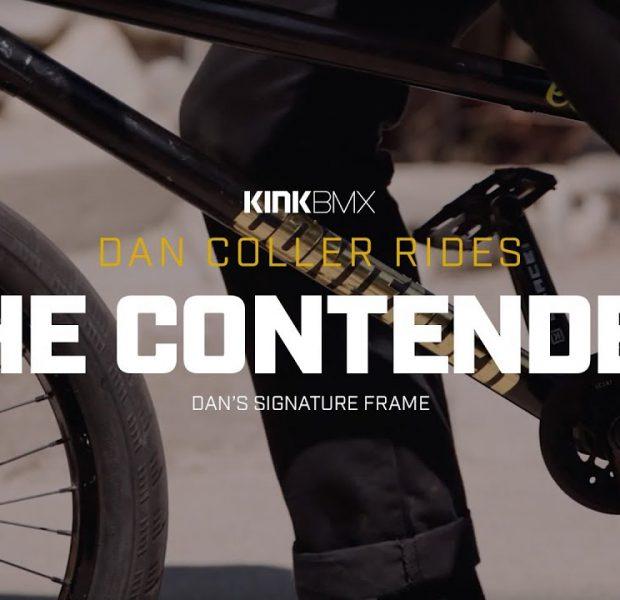 Dan Coller Rides His Signature Contender Frame! – Kink BMX