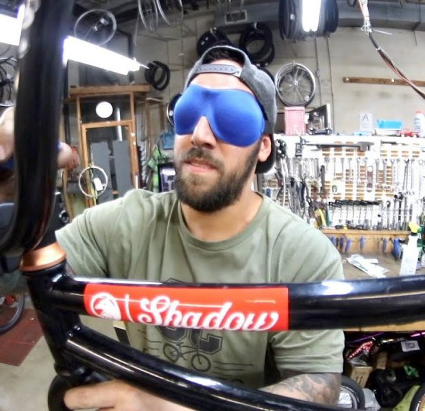 Is It Possible To Build A Bike BLINDFOLDED?