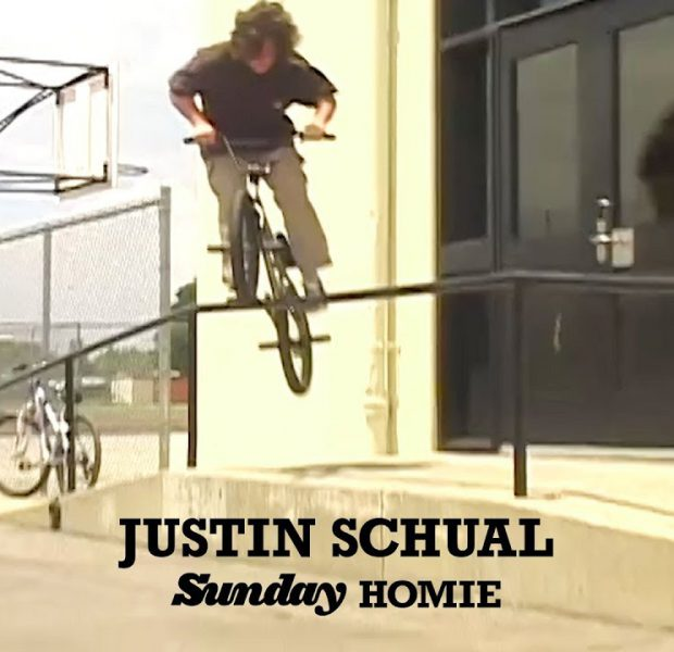 JUSTIN SCHUAL | Sunday Bikes – Official Homie | BMX