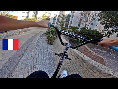 Riding BMX in PARIS!