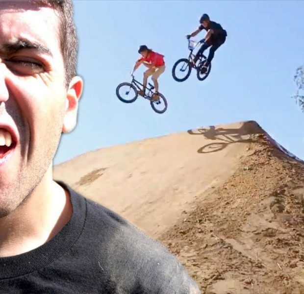 When Downhill BMX Racing Goes WRONG!