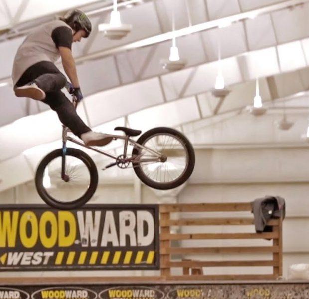 16 Year Old Sean Curliss Slays Woodward West!