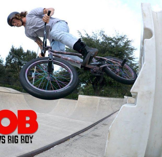 Cory Berglar vs Big Boy *GAME OF BIKE*