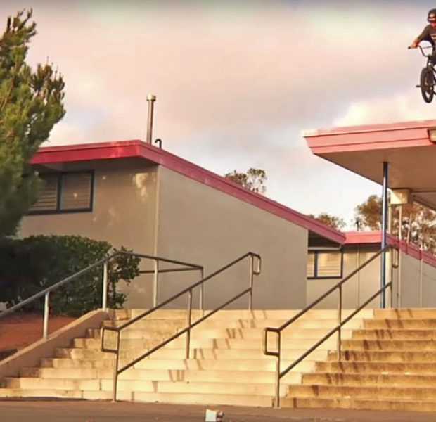 """Craziest BMX Tricks Ever Done – Mike """"Rooftop"""" Escamilla's Feeble Cut"""