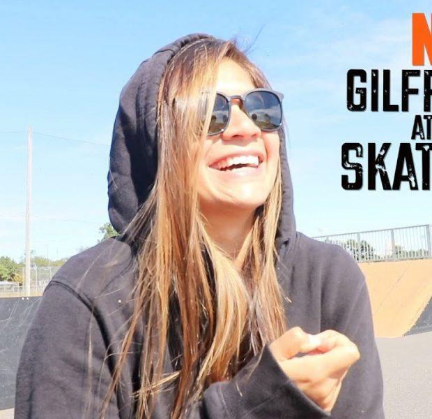 NO GIRLFRIENDS AT THE SKATEPARK!