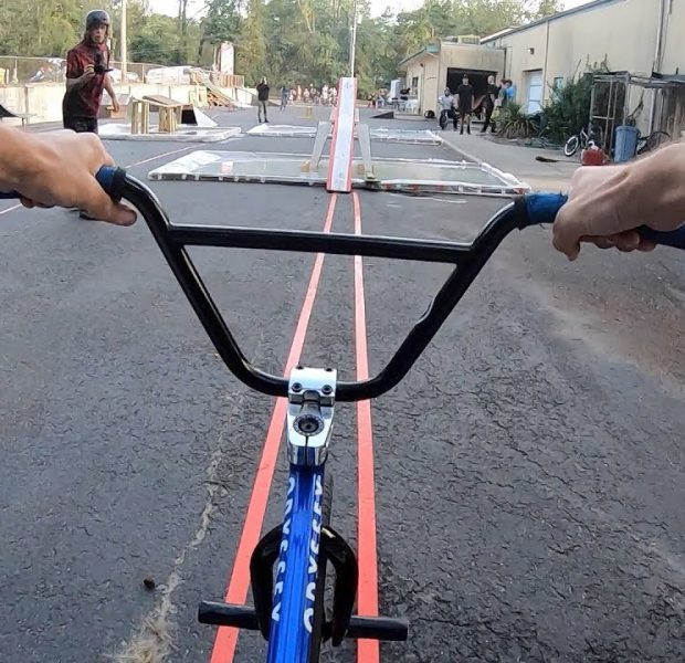 Riding The New Crazy BMX Obstacle Course!