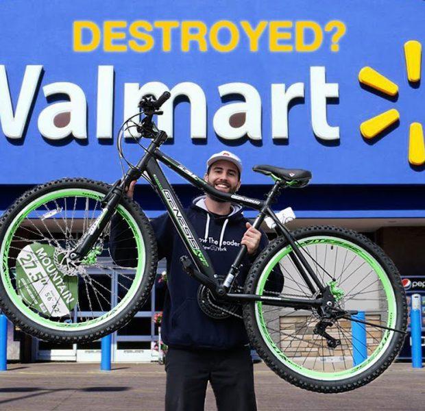 $175 Walmart MTB VS Downhill Mountain 2