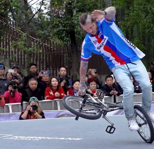 BMX FLATLAND PERFECTION – WORLD CHAMPIONSHIP WINNER DOMINIK NEKOLNY