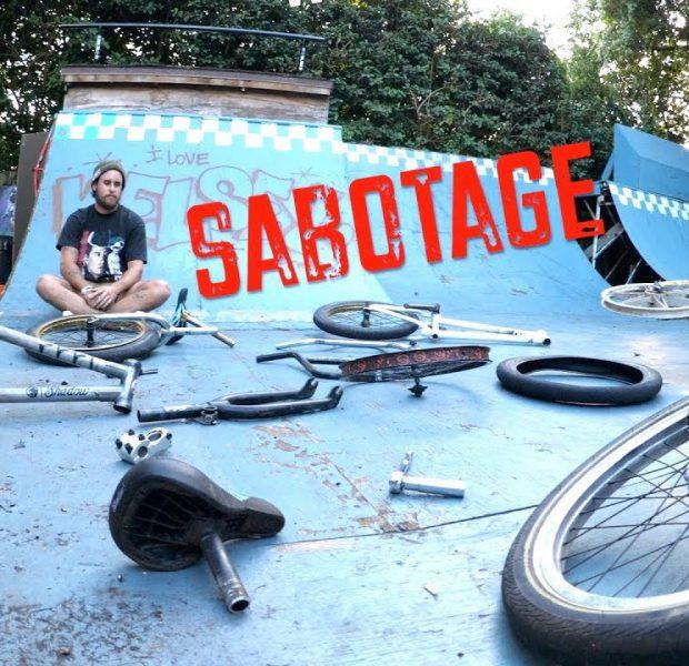 SABOTAGE BIKE BUILD CHALLENGE!