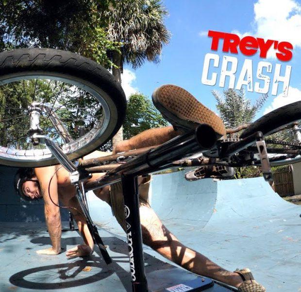 Trey Jones Scary Backyard CRASH!