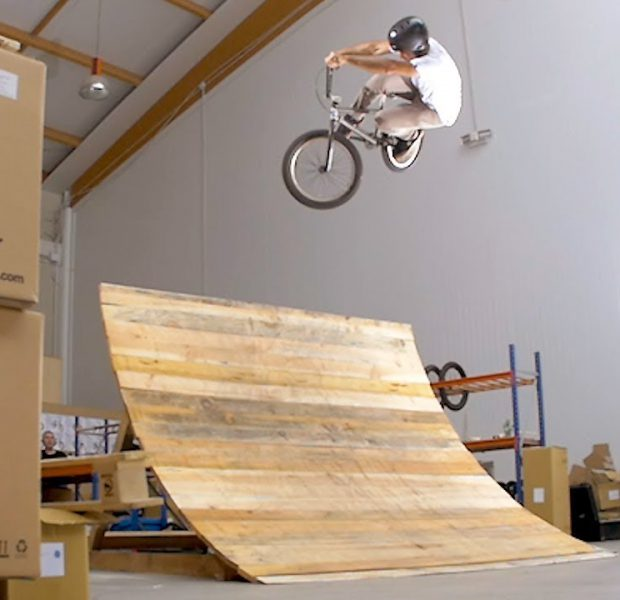 UNEXPECTED INDOOR SESSION – FLYBIKES BMX