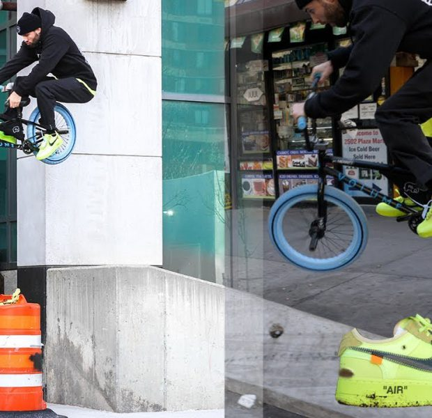 $1100 Off White Nike's VS NYC Streets BMX