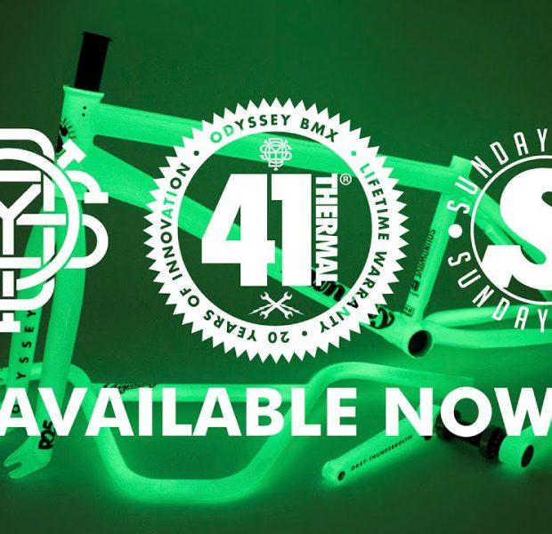 41-THERMAL | Odyssey X Sunday Limited Edition Glow in the Dark Kit | BMX