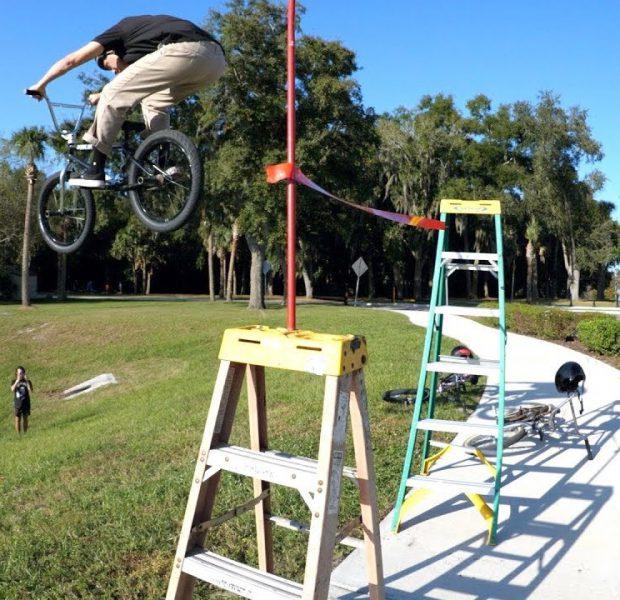 Crazy High Jump/Long Jump Challenge! *FIRST TIME EVER*