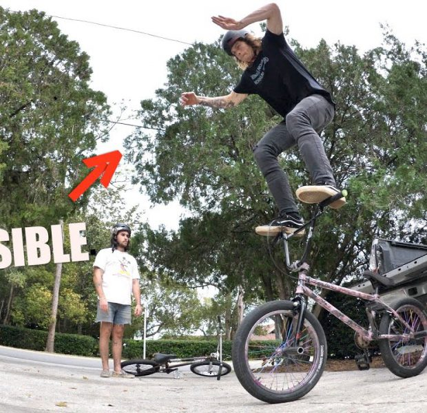 Is This The Secret To Standing On Handlebars?