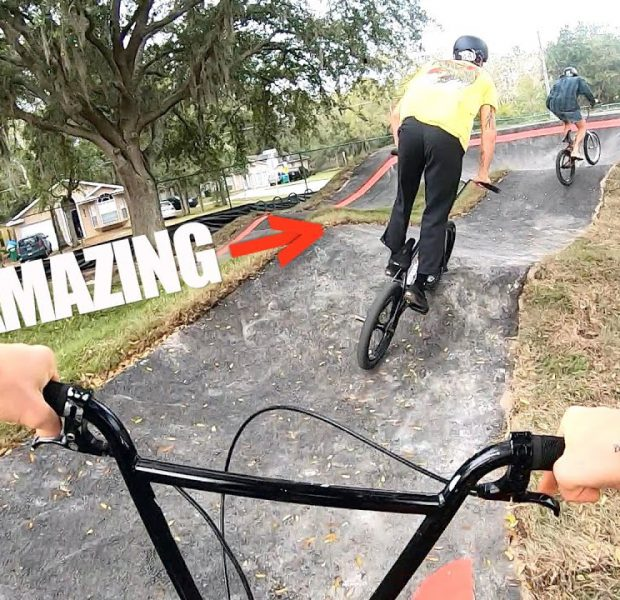 This Is What It's Like To Ride An AMAZING Pump Track!