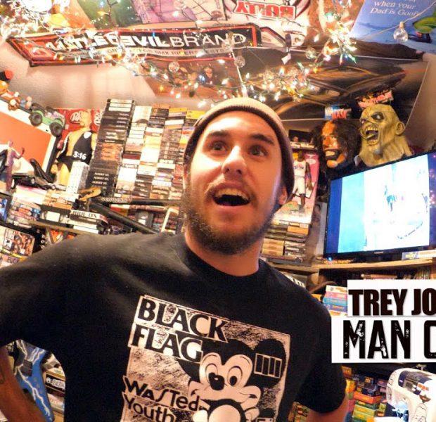 Trey Jones And His Ultimate Man Cave Update!