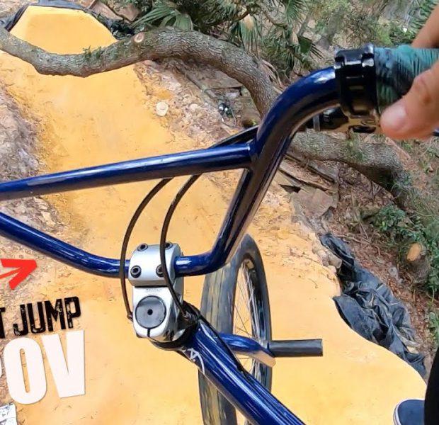 Trey Jones Dirt Jumps POV!