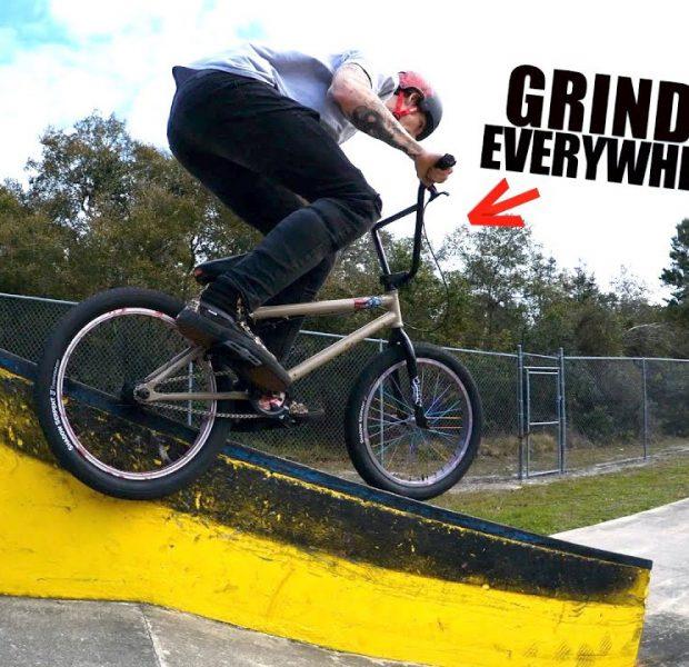 Big Boy Rides His Dream/Nightmare Skatepark!