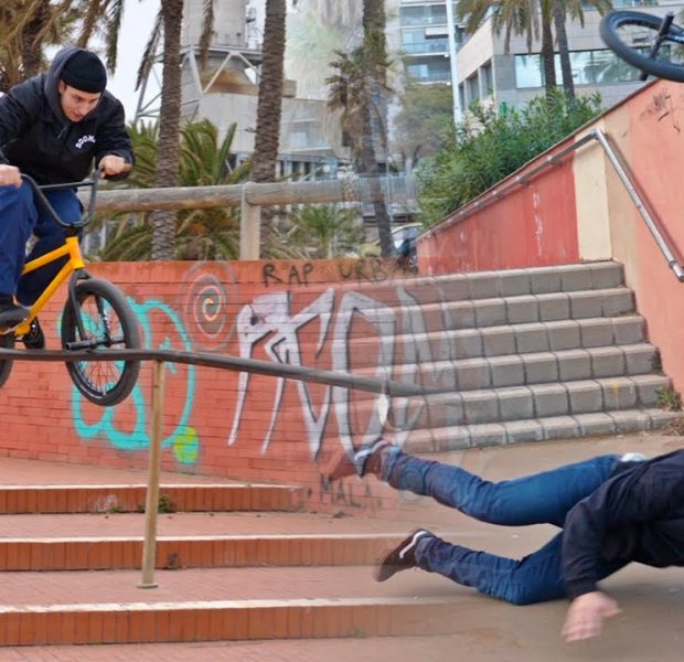 Broke Off in Barcelona… (BMX)