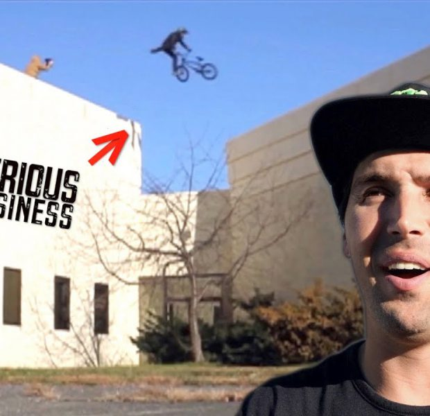 Craziest Tail Whip I Did Across A Building!