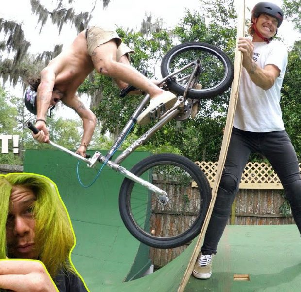 Big Boy Is The Ramp And Trey Jones Is The Rider! * Green Hair World Premiere*