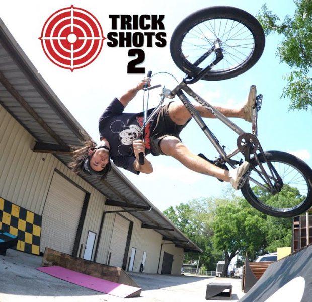 BMX Trick Shots The Sequel!