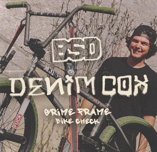 DENIM COX Grime Frame Bike Check | BSD BMX
