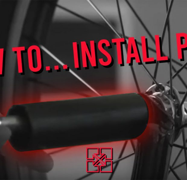 HOW TO: INSTALL BMX PEGS