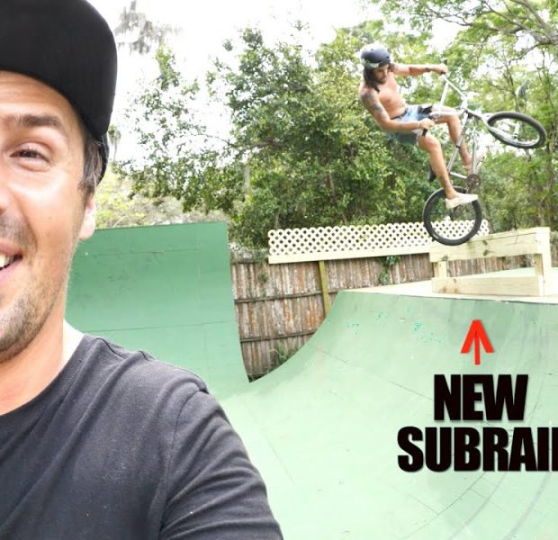 New Feature Built On Big Boy's Backyard Ramp!