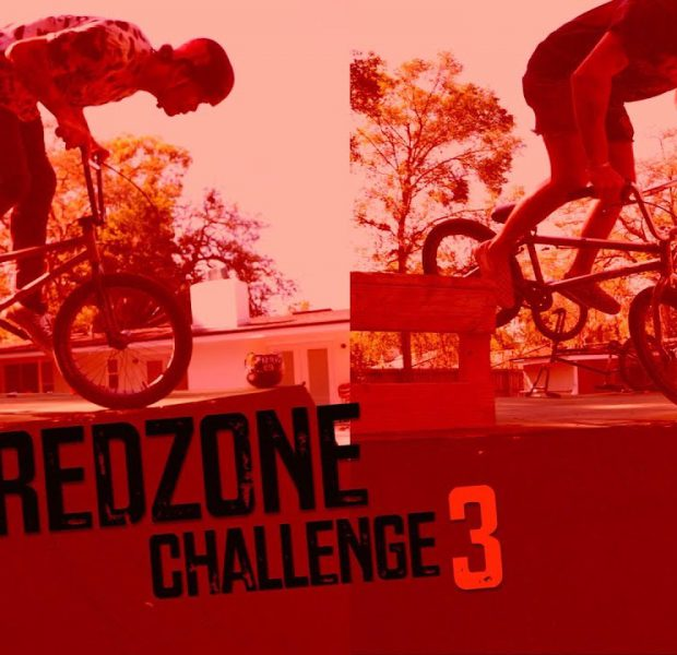 REDZONE Challenge On Big Boy's Ramp!