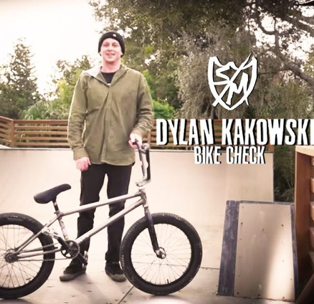 S&M BMX – Dylan Kakowski Bike Check