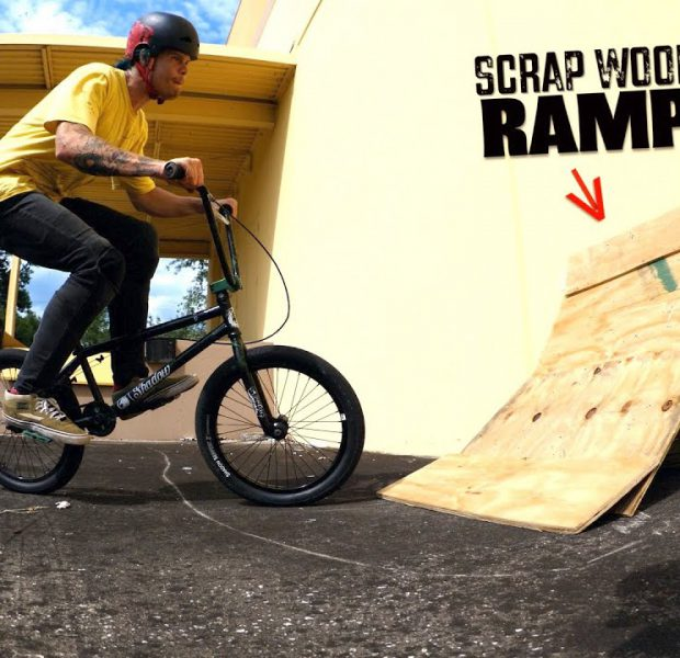 Do You Think This Ramp Made Of Wood Scraps Will Actually Work?