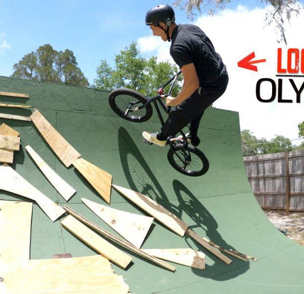 Lockdown Olympics On Big Boy's Ramp!