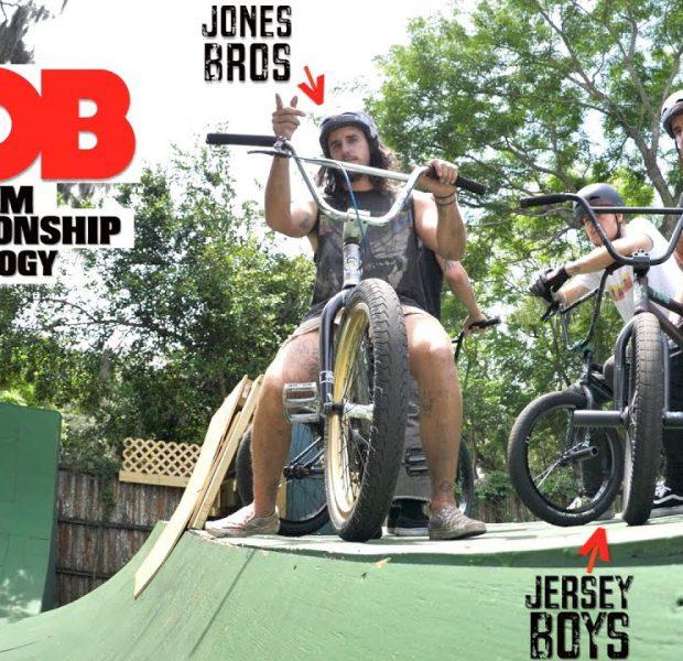Team Game Of Bike Championship On Big Boy's Ramp