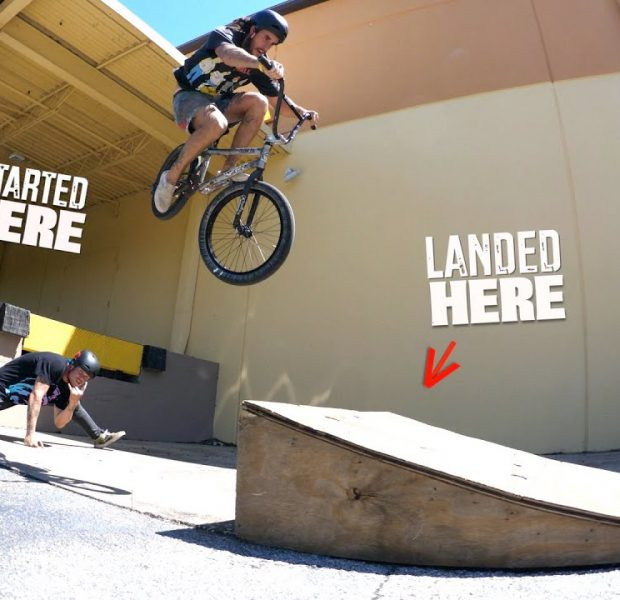 Trey Jones And The Crazy Loading Dock Jump!